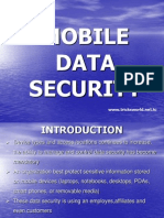 Mobile Data Security Ppt