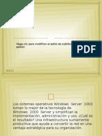 Windows Server 20003