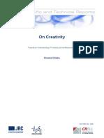 On Creativity Web
