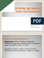 Transforming Agression Into Compassion
