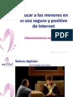 Educar a los menores en el uso seguro y positivo de Internet
