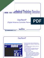 DacRemP3 Training+Document