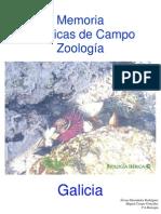 Memoria Prácticas Zoología