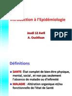 Introduction en epidemiologie modifié par zaki