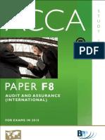 BPP F8 Audit and Assurance Int Study Text BPP