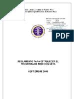 Reglamento Medicion Neta Completo Con Firma