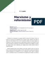 V.I. Lenin - Marxismo y Reformismo