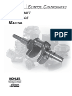 Kohler Crankshaft Reference Manual