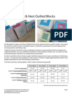 Sms Stacking Quilted Blocks
