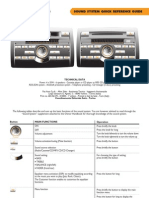 Stilo Sound System Quick Re Reference Guide
