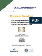 Guia de Implementacion de Infraestructura Basada en Software Libre