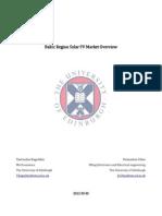 Baltic Region Solar PV Market Overview