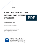 1Control Structure Design for Methanol Process