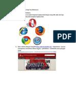 Petunjuk Teknis Pelaksanaan Tutorial Online Bagi Para Mahasiswa