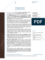 JP Morgan - Managing FX Hedge Ratios - A Framework for Strategic and Tactical Decisions