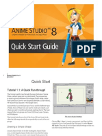 Anime Studio Pro 8 Quick Start