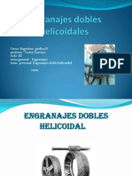 Engranajes dobles helicoidales[1]