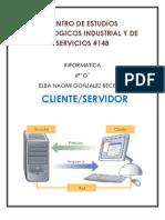 4to Resumen Cliente Servidor
