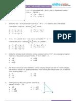 ContohSoalUAN-PersamaanFungsiKuadrat
