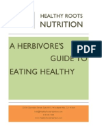 A Herbivore s Guide to Eating Healthy E-book