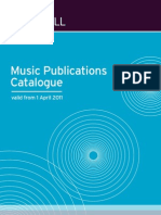 Publications Catalogue From April 2011 LOW RES