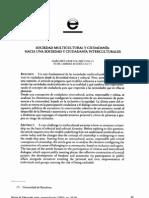 Bartolomé Pina y Cabrera Rodríguez - 2003 - Sociedad multicultural y ciudadanía hacia una soc