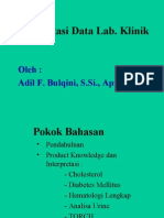 Interpretasi Data Lab. Klinik Update 2012