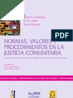 Brandt y Franco Valdivia - 2007 - Normas, Valores y Procedimientos en La Justicia Co