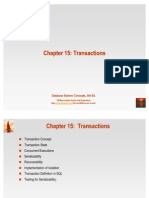 Chapter 15 Transactions