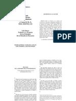 Tratado de La Reforma Del Entendimiento - Baruch Spinoza