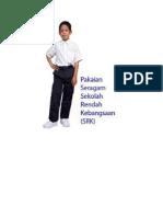 Pakaian seragam sekolah