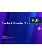 HP Base Business Price Book November'11 – January'12
