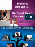 Teaching Smart Through ICT