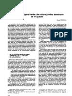 Correas - 1994 - El derecho indígena frente a la cultura jurídica dominante de los jueces