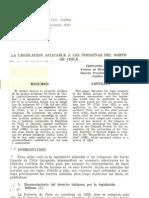 Dougnac - 1975 - La legislación aplicable a los indígenas del norte