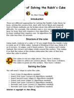 Rubik's Cube Tutorial