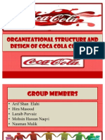 Organizational Structure of Coca Cola Company
