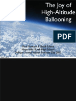 Near Space Ballooning