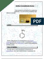 Aniline Formaldehyde Resins
