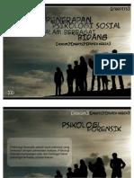 2-(10) Aplikasi Psikologi Sosial Dalam Berbagai Bidang