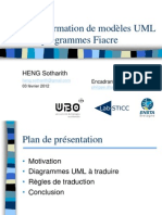 Transformation UML to Fiacre Slide