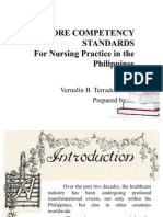 National Core Competency Standards