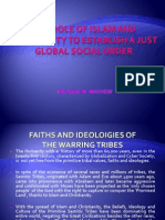 Islam and Christanity and the New Global Social Order