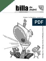 La Jiribilla de Papel, nº 071, septiembre 2007