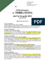TerraSanta-2012