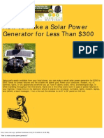 _How to Make a Solar Power Generator