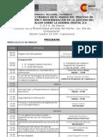 Programa General Cajamarca Marzo