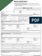 Bond Refund Form