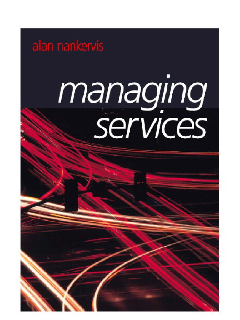 Managing services strategic management employment fandeluxe Image collections