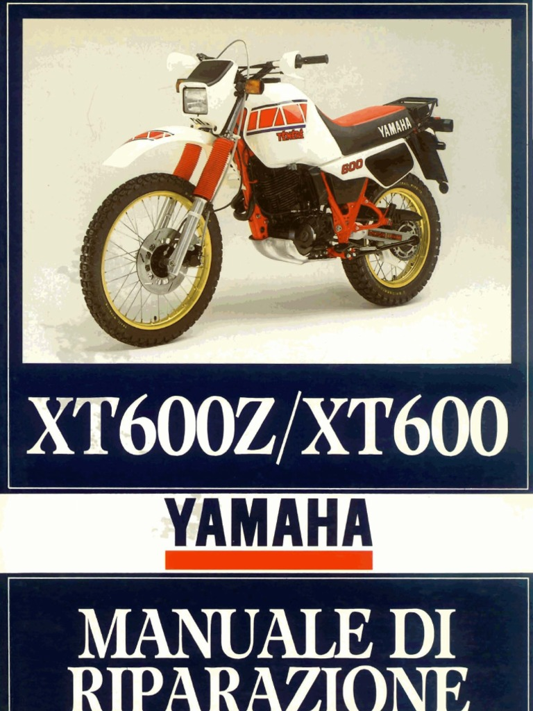 Schema Elettrico Yamaha Xt 600 : Yamaha tènèrè xt z del manuale d
